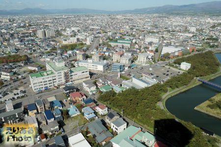 五稜郭タワーからの風景