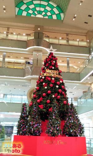 香林坊アトリオ広場のクリスマスツリー2018