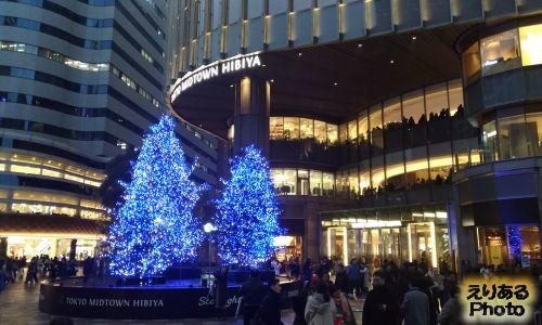東京ミッドタウン日比谷のクリスマスイルミネーション2018
