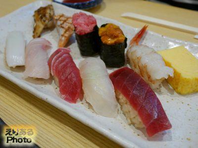 厳選握り@つきぢ神楽寿司